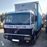 Mercedes tarp truck