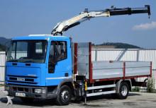 ciężarówka Iveco Eurocargo 75E Pritsche 4,50 m + KRAN!