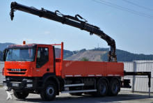 ciężarówka Iveco Trakker 360 * Pritsche 6,20 m + KRAN * 6x4