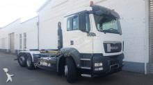 camion MAN TGS 26.400/6x2-4 BL 26.400/6x2-4/39 BL, Lenk-Liftachse achse, VDL Abrollanlage,