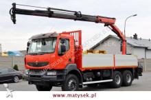 ciężarówka Renault KERAX 410 DXI/6X4/CRANE PALFINGER PK 16502/PILO