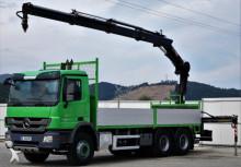 ciężarówka Mercedes Actros 2638 Pritsche 6,40 m + KRAN / 6x4!