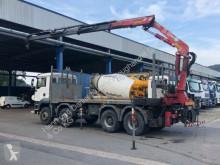 camion MAN TGA 35430 8X4 Kran Marrel 20tm