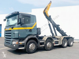 Scania hook lift truck