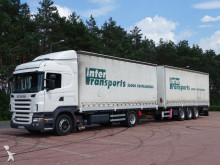 ciężarówka firanka Scania