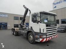Scania hook lift truck