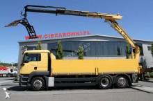 ciężarówka platforma burtowa MAN
