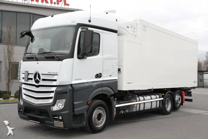 camion mercedes frigo thermoking actros 2543 6x2 gazoil euro 6 occasion n 2813035. Black Bedroom Furniture Sets. Home Design Ideas