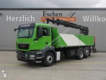camion MAN TGS 26.360, 2 Seitenkipper, Hiab 166 K 2 Kran