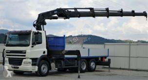 DAF CF 85.360*Pritsche 6,00m*KRAN* HIAB 400! truck