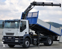 Iveco Stralis 310 * Kipper 5,45 m + KRAN Top Zustand! truck