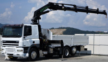DAF CF 85.430 Pritsche 6,60 m + KRAN / 6x2! truck