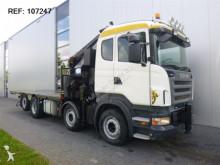 Scania standard flatbed truck