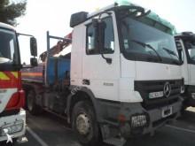 Mercedes two-way side tipper truck