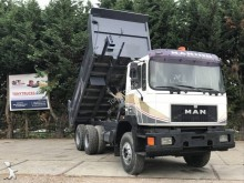 MAN half-pipe tipper truck