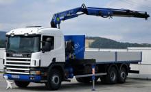 camion Scania 114G 340 *Pritsche 7,00 m + KRAN*Top Zustand!