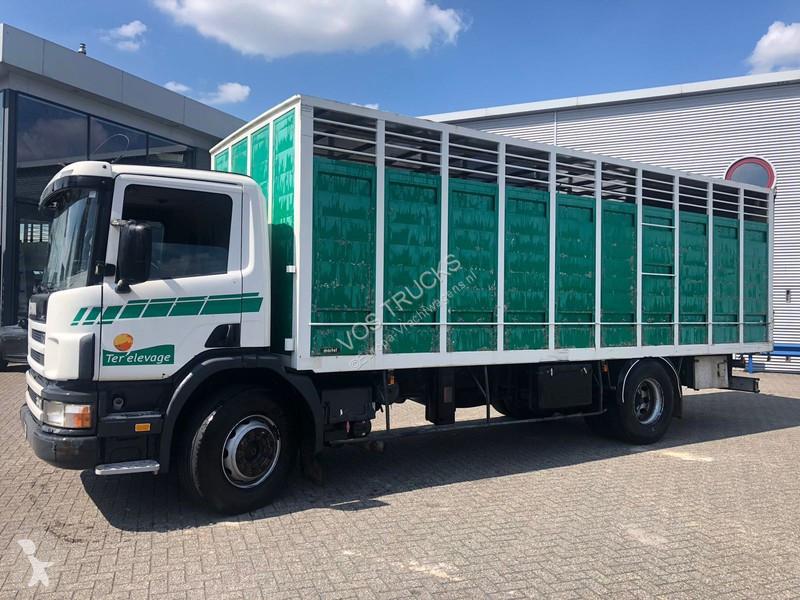 Camion Scania 114-340 Manual Animal Transport 2000
