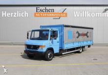 Mercedes 816 D, 4x2, Schiebeplane, Edscha, Bl/Lu truck