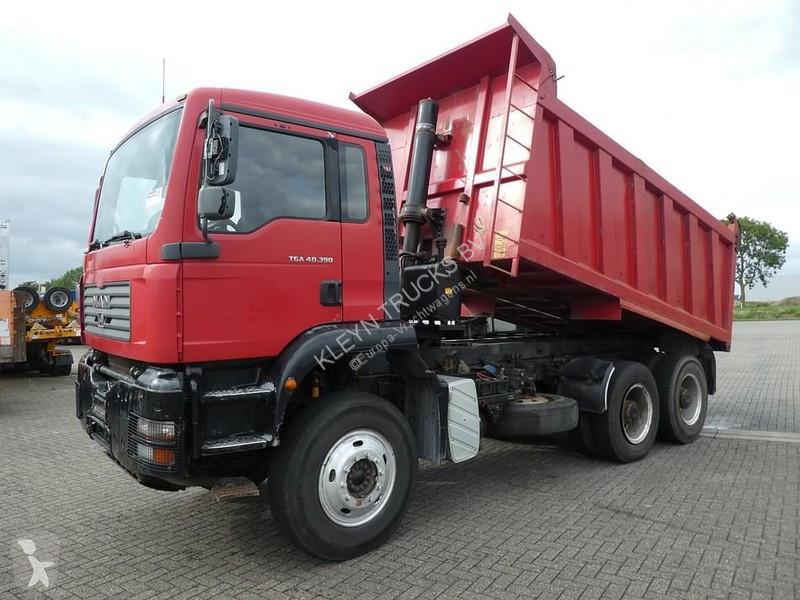 Camion MAN 40.390 full steel 17m3