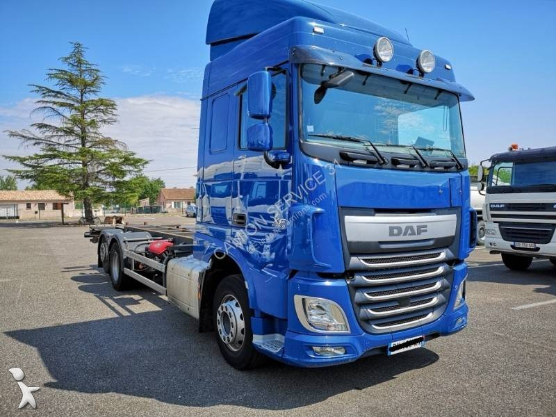 used daf xf container truck 6x2 diesel euro 6 n 2836896. Black Bedroom Furniture Sets. Home Design Ideas