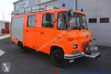 camion Mercedes 608 D LF8 Feuerwehr Ziegler 7-Sitzer Löschpumpe