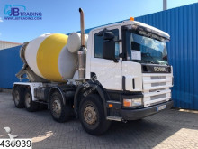 camión Scania 124 360 Stetter, Manual, Airco, Steel suspension, Hub reduction