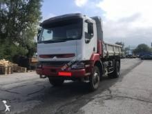 Renault three-way side tipper truck