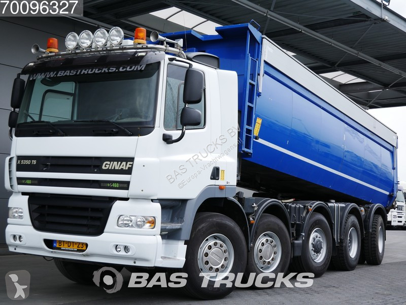 Camion Ginaf X 5350 TS 10X6 Isoliert