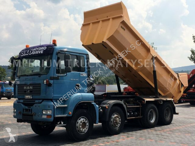 Camion MAN TGA 35.440 /8X6 / TIPPER / MANUAL / HYDRO-FLAP /