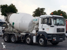 MAN powder tanker truck