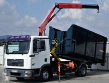 camion MAN TGL 7.150 Abrollkipper 4,20m + Kran!