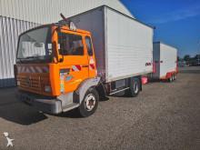 camion Renault S140 8 fourgon + remorque
