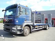 MAN heavy equipment transport truck