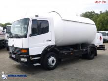 camión cisterna de gas Mercedes