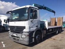 Mercedes heavy equipment transport truck