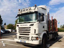 Scania timber truck