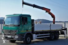 ciężarówka Mercedes Actros 2632 Pritshe 6,50m + Kran*6x4 !