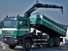 camión MAN TGA 26.410 Kipper 5,20m Bordmatic+Kran*6x4!