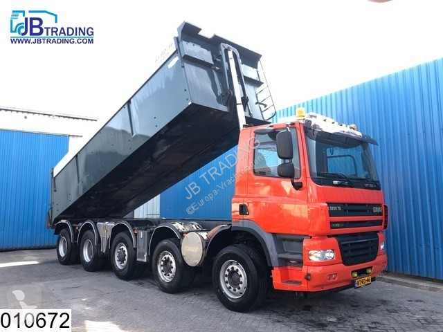 Camion Ginaf X 5250 TS 10x4, EURO 5, Airco, Airpress cabin, Asfalt transport, Isolated