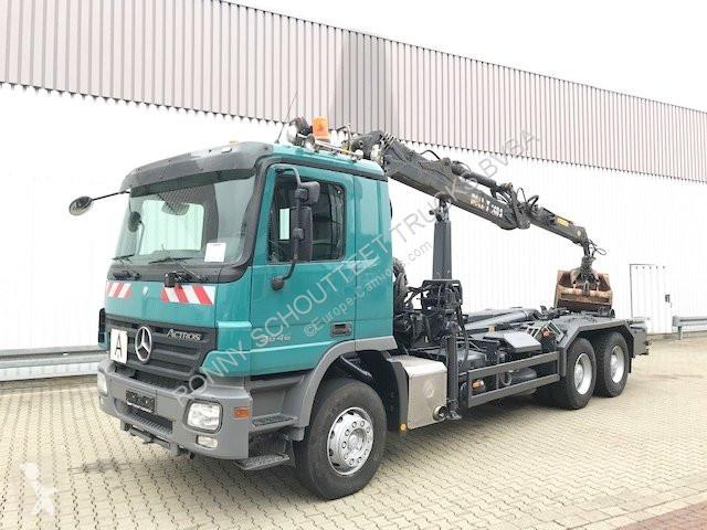 Camion Mercedes 2646 LK 6x4 2646 LK 6x4 mit Kran Loglift 140S, Retarder