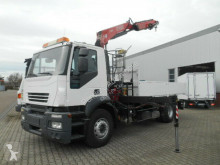camion Iveco Stralis 190S31 AD Kipper mit Kran FASSI 150A