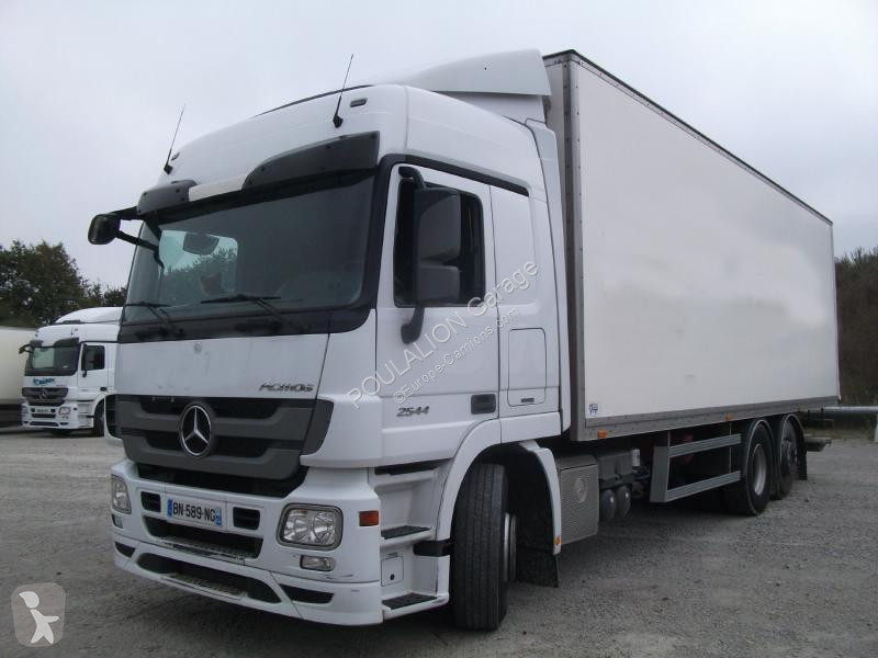 camion mercedes fourgon actros 2544 4x2 gazoil euro 5. Black Bedroom Furniture Sets. Home Design Ideas