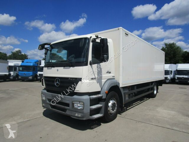 View images Mercedes AXOR 1824 L ISOLIER-Koffer 7,45 m LBW 1,5 to. truck