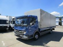 camion Mercedes ATEGO III 818 L Pritsche/Plane 6,20 m KLIMA