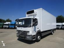camion Mercedes ATEGO 1222 L Koffer 7,25 m LBW 1,5 T CARRIER T+N