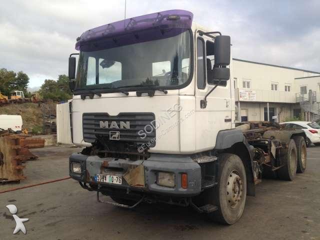 MAN PORTEUR AMPLIROLL truck