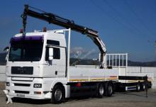 MAN flatbed truck