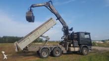 ciężarówka Scania 144 G+ HIAB BIG JON 24.90