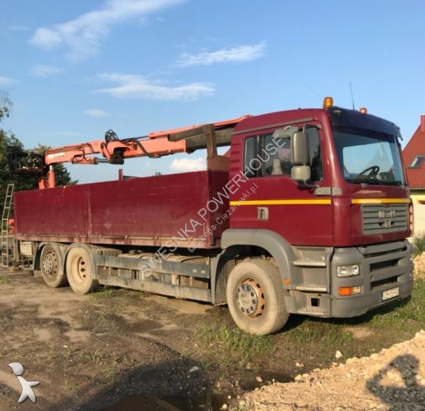 MAN TGA 410 HDS truck