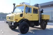 Unimog flatbed truck